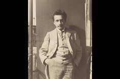 Forward Looking  Einstein in 1898, after he entered Zurich Polytechnic.