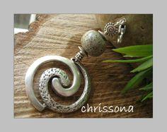 Anhänger Spirale  von chrissona auf DaWanda.com