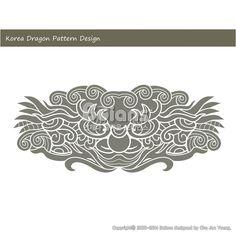 한국의 용 문양 패턴디자인. 한국 전통문양 패턴 디자인 시리즈. (BPTD010028) Korea Dragon Pattern Design. Korean traditional Pattern Design Series. Copyrightⓒ2000-2014 Boians.com designed by Cho Joo Young.