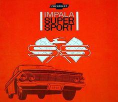 "prova275:  ""Super Sport… 1961 Chevy Impala specialty brochure cover  """