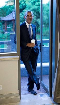 The coolest POTUS ever. My President.  President Barack Obama