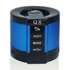 Bluetooth Speaker with USB Host/TF Card/Bluetooth Hands-free Call Support