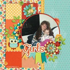 Girls - Scrapbook.com