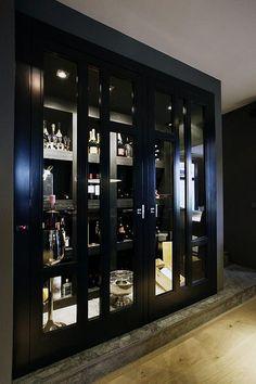 Prive bar Rotterdam - Horeca / Privebars - Projecten - Van Den Berg Interieurbouw