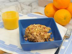 Sweet and Savory Oatmeal Bake Recipe : Food Network - FoodNetwork.com