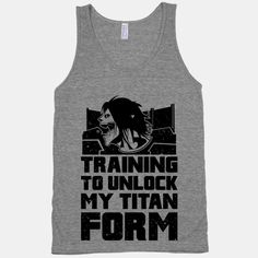Train so hard that your inner titan is unleashed!  Destroy the gym, weights, treadmill, and whatever else stands in your way to a fit bod.  Attack on fat is more like it! | Beautiful Designs on Graphic Tees, Tanks and Long Sleeve Shirts with New Items Every Day. Satisfaction Guaranteed. Easy Returns.     Awesome website with awesome tees. Lookhuman.com