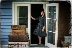 50's Polka Dot Tea Dress Day Dresses, Polka Dots, Tea, Collection, Style, Swag, Polka Dot, Dresses, Teas