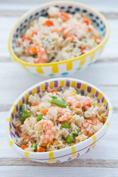 Smoked Haddock & Shrimp Fried Rice | via Food Odyssey