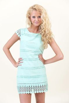 Mint dress. Would be super cute 2 wear 2 the track I think!