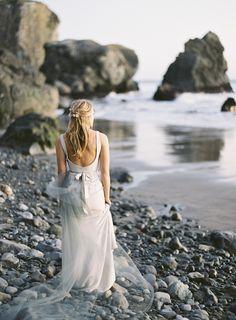 Photography: Brett Heidebrecht - www.brettheidebrecht.com Read More: http://www.stylemepretty.com/2014/09/01/coastal-california-wedding-inspiration/