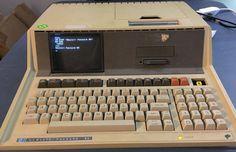 Hewlett Packard HP-85 Computer/Calculator Working