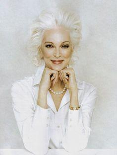 ageless, timeless beauty,oldest model still modeling, gorgeous...