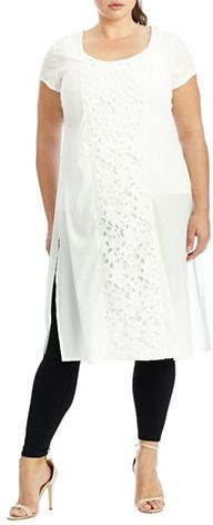 Plus Size Lace Panelled Tunic Formal Dresses For Women, Nice Dresses, Plus Size Dresses, Plus Size Outfits, Hey Gorgeous, Beautiful, Full Figure Fashion, Model Outfits, Plus Size Summer