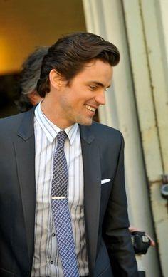 Matt Bomer's gorgeous smile!