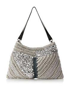 Lorenza Gandaglia Women's Kuni Shoulder Bag (Silver)