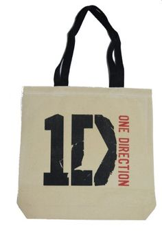 5fc9858de9 Amazon.com : One Direction 1Direction Canvas Tote Bag (1-sided print)  (Canvas 12 oz + Black Handle) : Cosmetic Tote Bags : Beauty