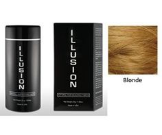 Illusion Hair Building Fibers 25g 0 78 Oz Blonde By Thinning