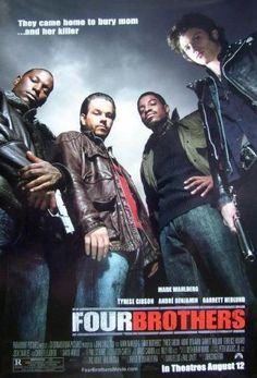 Four Brothers Mark Wahlberg Tyrese Gibson André Benjamin Garrett Hedlund Action Movie 24x36 Poster Print High Quality Rare Limited by Mypostergallery, http://www.amazon.com/dp/B00B76DMP6/ref=cm_sw_r_pi_dp_BipQrb0MA2AR6