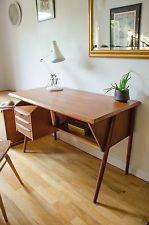 Vintage Danish Teak Desk By G Nielsen Tibergaard Mid Century Modern Heals 1960s
