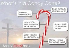 The Christian symbolic meaning behind the candy cane :-)