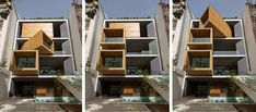 Precise mechanical engineering was necessary for the realisation of this single-family house in Tehran.