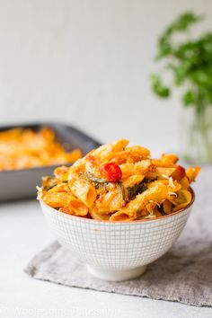 Tomato Spinach and Cheese Pasta Bake gluten-free-pasta-bake-dinner-delicious-easy-barilla-tomato-penne-spinach