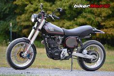 yamaha xt500 retro supermoto on bikerMetric