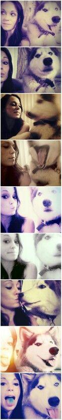 Husky = best friend :)