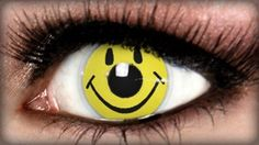 Smiley Costume Contacts