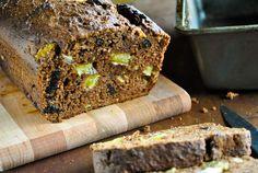 Gingerbread loaf with orange and prunes (sugar free)  VeganSandra - tasty, cheap and easy vegan recipes by Sandra Vungi