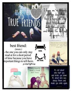 """""""Best Friends"""" by acadia697 ❤ liked on Polyvore featuring art"""