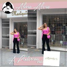 Aline Alves nossa Poderosa de hoje está na Mariquinha Store encantada com cada look incrível que ela prova! Com certeza você também se encantará... da uma passadinha na loja e confira!