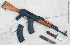 Romanian WASR Cal: mine was all black with the… Tactical Rifles, Firearms, Kalashnikov Rifle, Rifle Accessories, Cool Guns, Awesome Guns, Guns Dont Kill People, Assault Rifle, Warfare