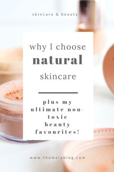 Discover why you should switch your skincare and beauty routine to natural and organic alternatives. Plus, see my favourite natural essentials. #cleabeauty #crueltyfreemakeup #naturalskincare #organic Organic Beauty, Organic Skin Care, Natural Skin Care, Natural Beauty, Natural Life, Natural Makeup, Natural Hair, Skin Care Regimen, Skin Care Tips