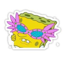 Shady Spongebob Sticker