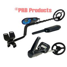 Bounty Hunter Metal Detector Quick Silver with 8 Inch Coil and Junior Detector with 6 1