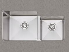 Love this double undermounted sink