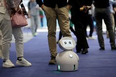 After three waves of automation, men will face greater job losses than women, a PwC study shows - Quartz - Job automation will hurt women first but will ultimately hurt men Global Mobile, Mathematical Model, Beijing, It Hurts, Waves, Study, Technology, Robots, Confidence