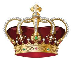 High-quality Free Clipart of Royal Crowns, King Crown PNG, Queen Crown Clipart, Princess Tiara and Pope Tiara. Royal Crowns, Royal Jewels, King Tattoos, New Tattoos, King Crown Images, Crown Clip Art, Queen Chess Piece, Image King, 3d Cnc