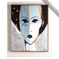 Rfa Fine Art Madame X Blue Giclee