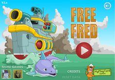 Tu mejor amigo Fred un delfín bien simpático lo han secuestrado por hombres de un zoológico