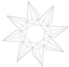 paper gem pattern   lotsofdiy.com