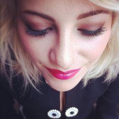 Pixie Lott - makeup by FashionistA. #LFW 2012