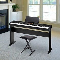 Casio privia px 735 digital piano furniture and for Yamaha 88 key digital piano costco