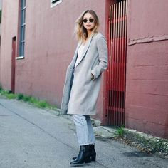 @augustdiariesca in the Stedman Coat. #MyAritzia | Aritzia