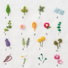 Hand Embroidery Designs Diy Embroidery Embroidery Alphabet Hand Embroidery Flowers Hand Embroidery Stitches Handkerchief Embroidery Cross Stitch Embroidery Embroidery For Beginners Beginners Sewing Diy Embroidery Flowers, Simple Embroidery Designs, Hand Embroidery Patterns Free, Embroidery Stitches Tutorial, Embroidery On Clothes, Learn Embroidery, Embroidery Ideas, Embroidery Sampler, Embroidered Flowers