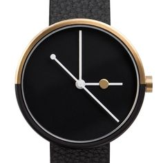 gold and black dual tone plating on Eclipse — night and day / moon's movement in relation to earth and sun.