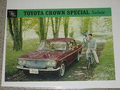 Deze reclamefolder uit 1965 laat goed de lijnen van de Crown zien...