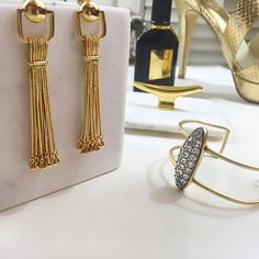 "Rachel Zoe Tassel Earrings Details: • Gold plated • Post back • 2 7/8"" long • Brand new with box and dust bag  06171504 Rachel Zoe Jewelry Earrings"