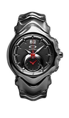 Oakley Judge Blue Dial/Stainless Steel Braceletwww.wearethebikerstore.com | Leather, Skull, Bikers, Fashion, Men, Women, Home Decor, Jewelry, Acccessory. #luxurywatches
